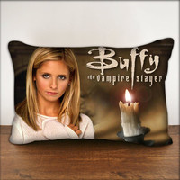 """Buffy The Vampire Slayer - Pillow Cover in Size 18""""x18"""" and 30""""x20"""""""