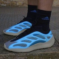 ADIDAS Yeezy 700 V3 cool reflective men and women old shoes casual wild coconut shoes