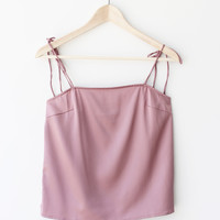 Grace Shoulder Tie Top