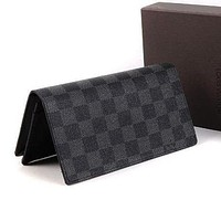 Louis Vuitton LV Women Leather Fashion Wallet Purse Bag