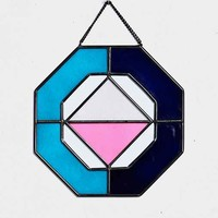 Magical Thinking Glass Octagon Wall Sculpture- Multi One