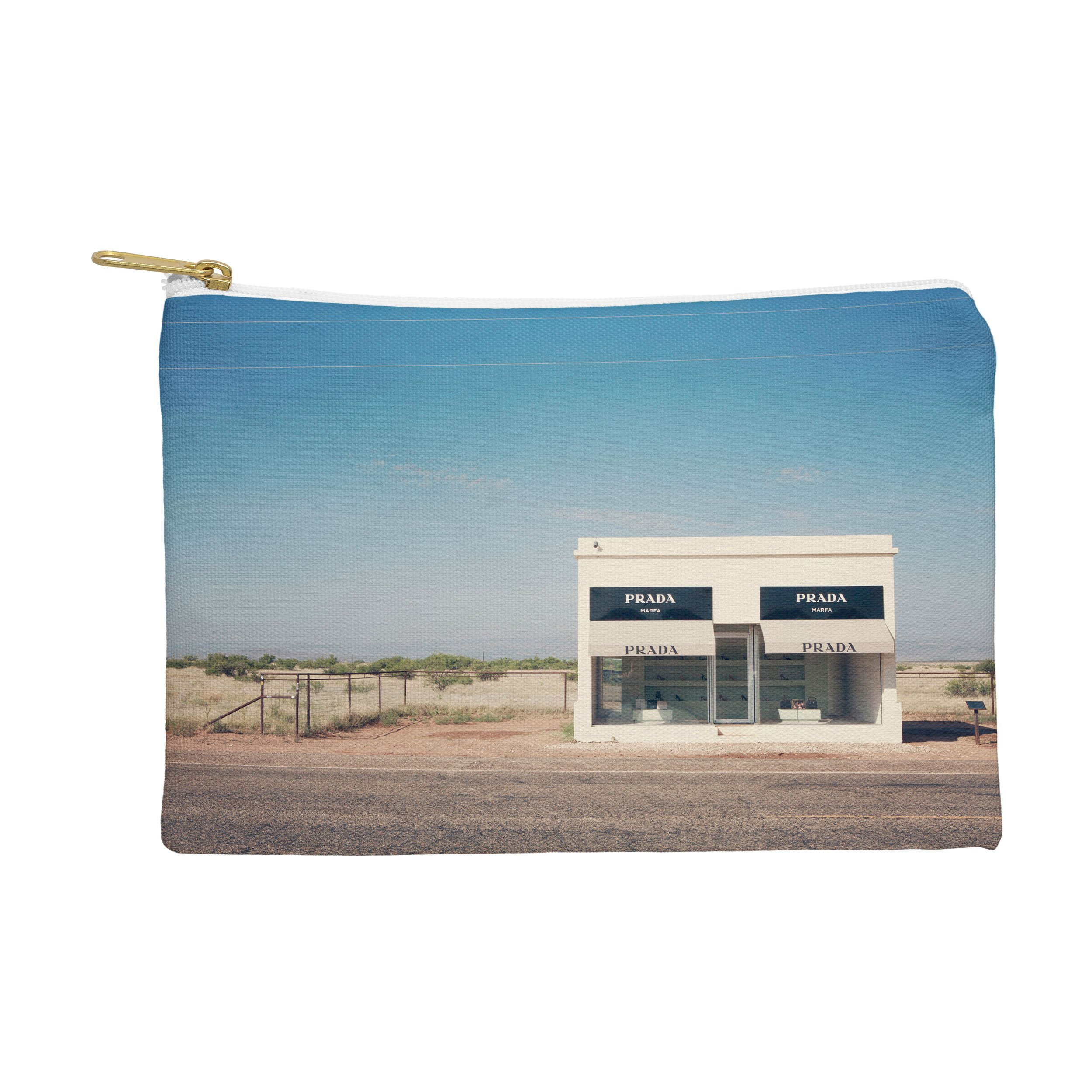 Image of Catherine McDonald Irony in West Texas Pouch