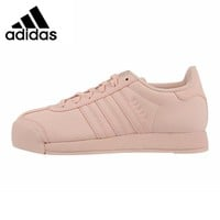 Adidas Originals Samoa Women's Walking Shoes, Pink, Shock Absorbing  Lightweight Abrasion Resistant Breathable  BY3528