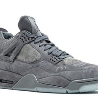 Men's Jordan 4 Retro KAWS Cool Grey/White 930155-003