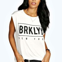 Maria Brooklyn Sleeveless Top