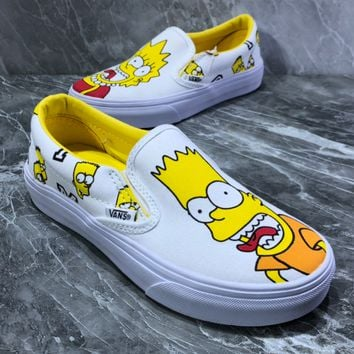 Vans Classic Slip-On Simpson shoes