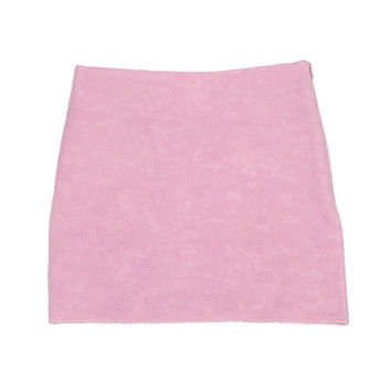 Lovely Soft Fluffy Mini Skirt