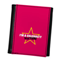 Celebrity Hater High Quality PU Faux Leather Wallet by Chargrilled