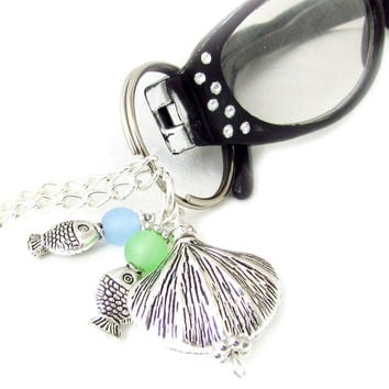 Seashell Eyeglass Lanyard