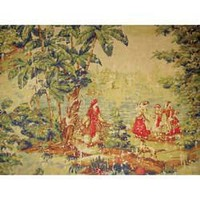 BOSPHORUS TROPICAL SPICE TRADER SCENIC TOILE at Hancocks.Paducah.com