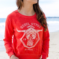Billabong - Rebel Gypsy Pullover | Rio Red