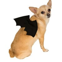 Rubies Costume Halloween Classics Collection Pet Costume, Medium to Large, Bat Wings