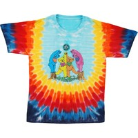 Grateful Dead Men's  Tie Dye T-shirt Multi