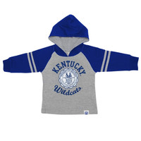 Kentucky Wildcats Preschool Raglan Pullover Hoodie – Gray - http://www.shareasale.com/m-pr.cfm?merchantID=7124&userID=1042934&productID=551044803 / Kentucky Wildcats