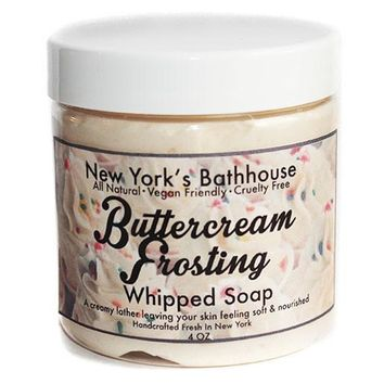 Buttercream Frosting Whipped Soap