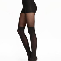 H&M Overknee-look Tights $12.99