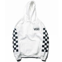 Boys & Men VANS Tartan Fashion Top Sweater Pullover Hoodie