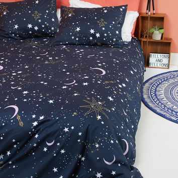 Star-Crossed Covers Duvet Cover in Full/Queen | Mod Retro Vintage Decor Accessories | ModCloth.com
