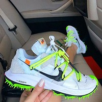 OFF-WHITE NIKE ZOOM TERRA KIGER 5 Running shoes