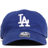 Los Angeles Dodgers Clean Up Unstructured Strapback Hat Royal Blue