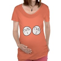 Twin 1 And Twin 2 Maternity Top From Ricaso.com