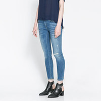 FADED JEANS - Jeans - Woman | ZARA United States
