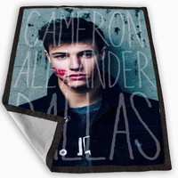 Cameron Alexander Dallas Magco Family Blanket for Kids Blanket, Fleece Blanket Cute and Awesome Blanket for your bedding, Blanket fleece **