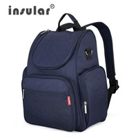 Insular Elegant Baby Diaper Backpacks Nappy Bags Multifunctional Changing Bags For Mommy Shipping Free