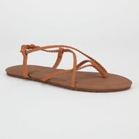 Billabong Crossing Over Womens Sandals Brown  In Sizes