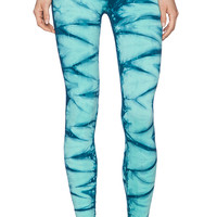 NUX V Ankle Pant in Blue