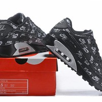 Nike Air Max 90 537384-003 Black Running Sneaker-1