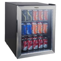 Whirlpool 2.7 Cu. Ft. Mini Refrigerator Beverage Center - Stainless Steel JC-75NZY