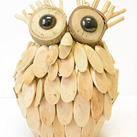 Driftwood Owl Table Decor