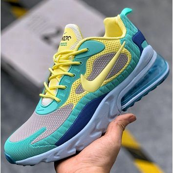 Nike Air Max 270 React Atmospheric Running Sports Shoes Sneakers