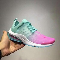 Nike Air Presto Ultra Flyknit Women Running Sport Casual Shoes Sneakers Blue purple I-CSXY