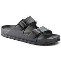 Women's Arizona Essentials Eva Sandal in Anthracite by Birkenstock