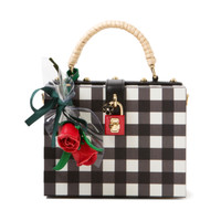 Dolce and Gabbana Gingham Clutch | Kirna Zabete