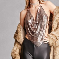 Drapey Chainmail Halter Top