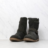 coolway - Adam suede motorcycle boots