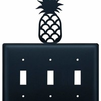 Pineapple - Triple Switch Cover