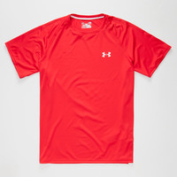 Under Armour Tech Mens Tee Red  In Sizes