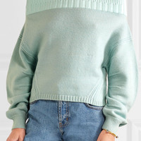 Opening Ceremony - Off-the-shoulder wool-blend sweater