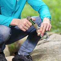 Personal Portable Water Filter for hiking and camping