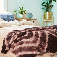 Rosa Eyelash Fringe Throw Blanket - Urban Outfitters