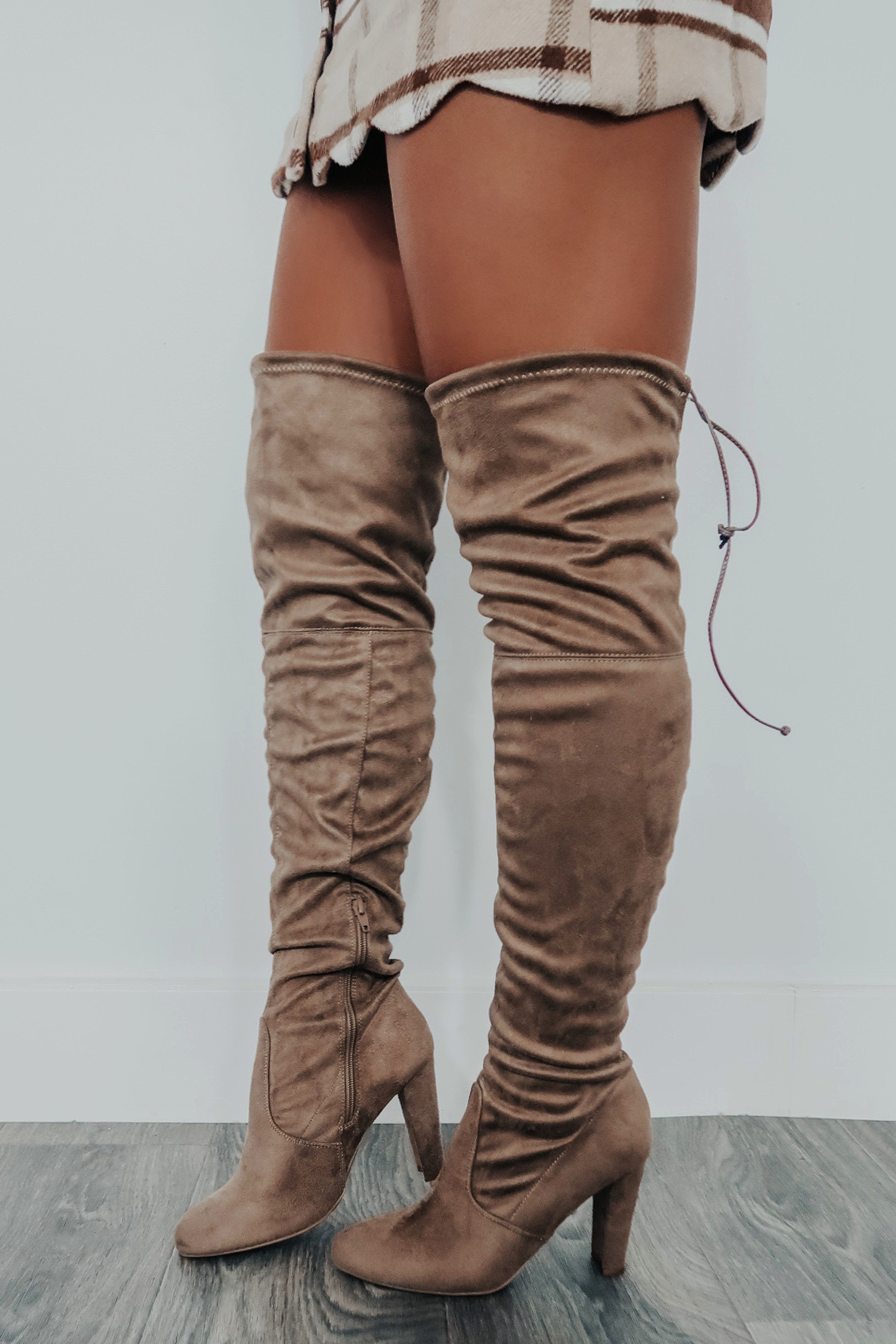 Image of Day By Day Boots: Taupe