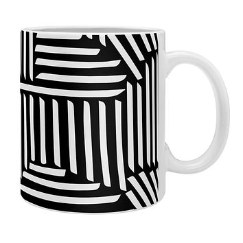 Fimbis Strypes BW Coffee Mug