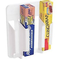 Rubbermaid 2310-rd Wht Wrap and Bag Organizer, White, Plastic