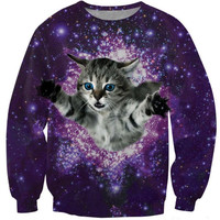 Time Travel Cat Sweater