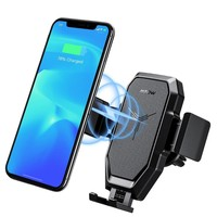 Wireless Vent Mount Car Charger 10W/7.5W/5W Charging For iPhone Samsung