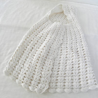 Baby Girl Newborn Wrap Hooded Blanket Gown Christening Clothing Cocoon Photo Props Photography